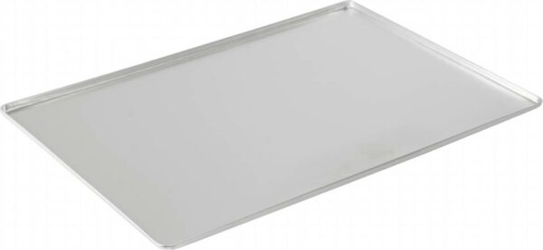 display tray and baking sheet for counters - silver etched