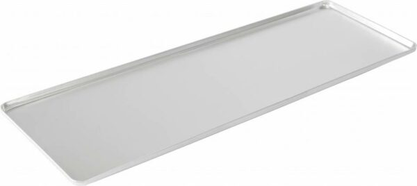 Display tray and baking sheet for counters - silver anodised