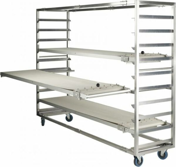 Trolleys for loading device