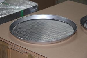 Aluminium Pizzablech gelocht, ¯ Loecher 3,5,10 mm