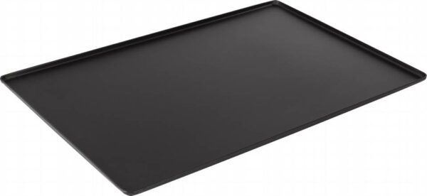 Display tray and baking sheet for counters - black painted