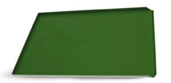 Antihaftbeschitung PTFE grün